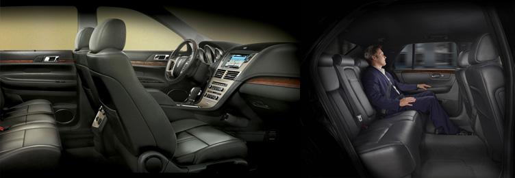 Lincoln MKT Sedan Interior