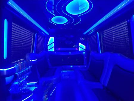 Sprinter limo interior