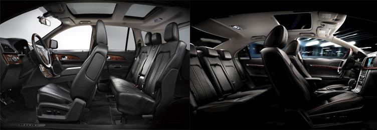 Lincoln Town Car sedan Interior